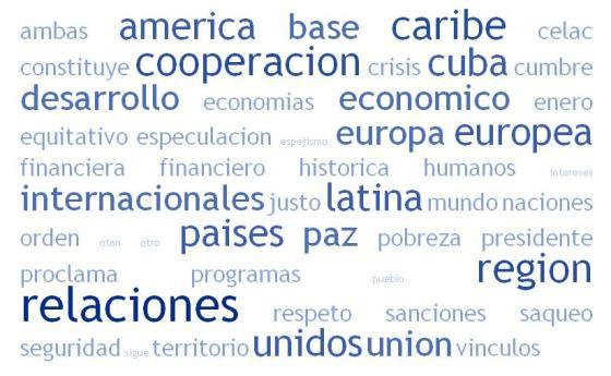 Discurso Miguel Díaz Canel en Cumbre UE-CELAC