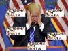 En inglés y español: Trump persona no grata en elCaribe