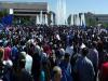Decenas de miles de sirios protestan contra agresión deEEUU