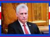Rusia y Cuba condenan política de sanciones, afirmaDíaz-Canel