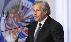 """Almagro urge al Grupo de Lima a sancionar la """"dictadura criminal"""" de Maduro"""